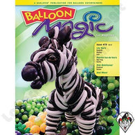 Balloon Magic Magazine #79 - Zebra, Magazines, Qualatex, tmyers.com - T. Myers Magic Inc.