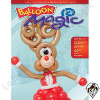 Balloon Magic Magazine #81 - Rudolph, Magazines, Qualatex, tmyers.com - T. Myers Magic Inc.