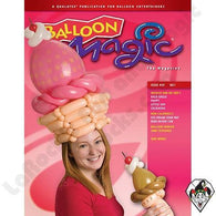 Balloon Magic Magazine #57 - Ice Cream Social, Magazines, Qualatex, tmyers.com - T. Myers Magic Inc.