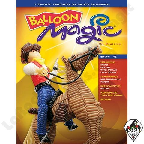 Balloon Magic Magazine #46 - Pony Express, Magazines, Qualatex, T. Myers Magic Inc. - T. Myers Magic Inc.