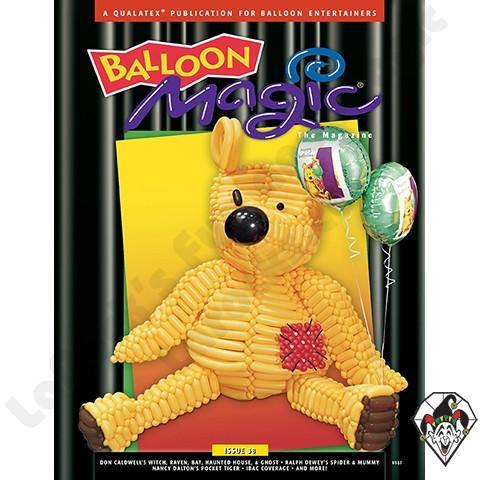 Balloon Magic Magazine #38 - Halloween Figures, Magazines, Qualatex, tmyers.com - T. Myers Magic Inc.