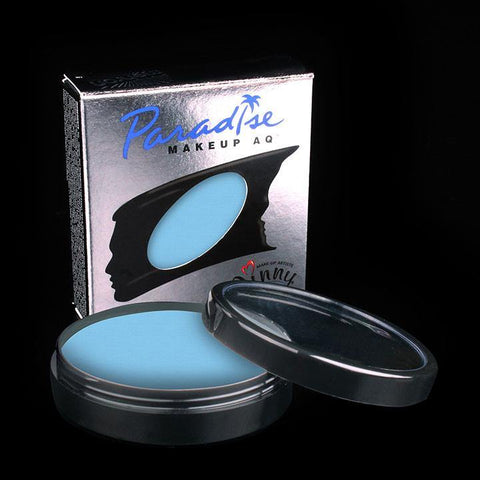 Paradise Pro Cup Lagoon Blue, Face Paint, Mehron, T. Myers Magic Inc. - T. Myers Magic Inc.