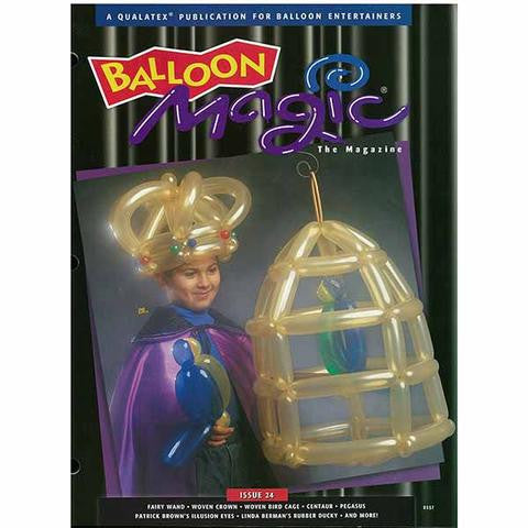 Balloon Magic Magazine #24 - Myths, Medieval and More, Magazines, Qualatex, T. Myers Magic Inc. - T. Myers Magic Inc.