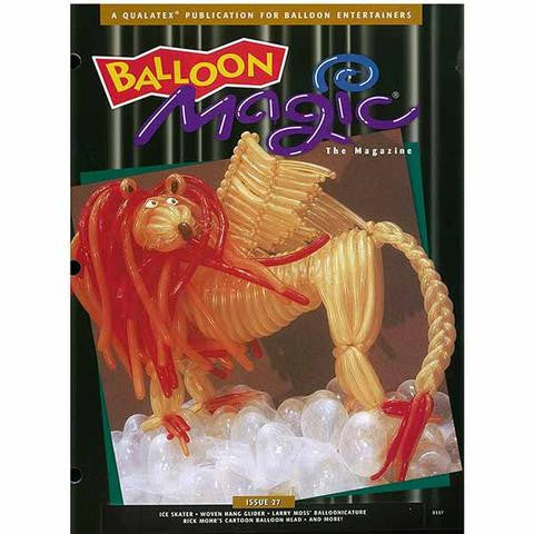 Balloon Magic Magazine #27 - Lions in Winter 2001