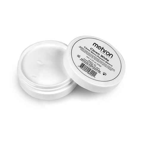 Mehron Clown Makeup 2 oz-Clown White, Clown Makeup, Mehron, tmyers.com - T. Myers Magic Inc.