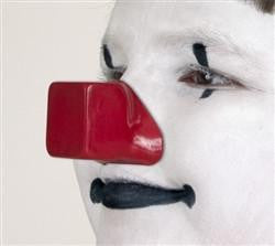 ProKnows Gloss Foam Nose-R (Square), Clown Nose, ProKnows, tmyers.com - T. Myers Magic Inc.