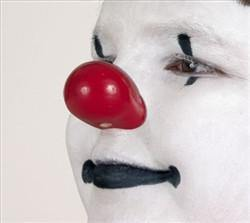 ProKnows Gloss Foam Nose W-MR (Wide), Clown Nose, ProKnows, tmyers.com - T. Myers Magic Inc.