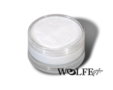 WB Hydrocolor Essentials Cake 90 Gram-White, Wolfe Paint, WolfeFX, tmyers.com - T. Myers Magic Inc.