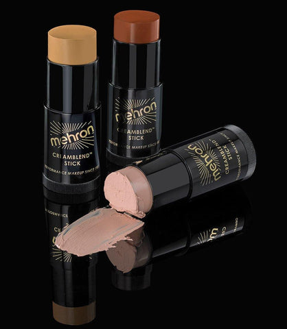 Mehron Creamblend Stick Makeup .75 oz-Light Auguste, Clown Makeup, Mehron, tmyers.com - T. Myers Magic Inc.