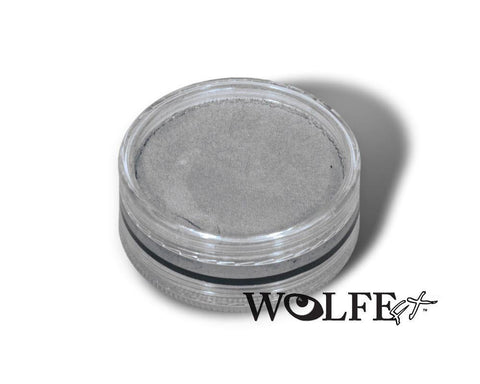 WB HYDROCOLOR ESSENTIALS CAKE 45 GRAM Grey, Wolfe Paint, WolfeFX, T. Myers Magic Inc. - T. Myers Magic Inc.