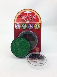 Ruby Red Face & Body Paint 18 ml-Green, Face Paint, Ruby Red Paint, tmyers.com - T. Myers Magic Inc.