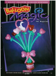 Balloon Magic Magazine #31 - Awesome Bouquet, Magazines, Qualatex, tmyers.com - T. Myers Magic Inc.
