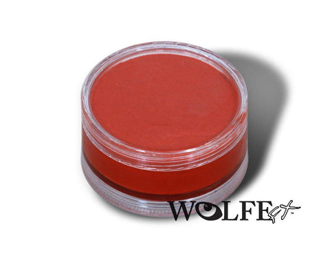 WB HYDROCOLOR ESSENTIALS CAKE 90 GRAM Red, Wolfe Paint, WolfeFX, T. Myers Magic Inc. - T. Myers Magic Inc.