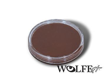 WB Hydrocolor Essentials Cake Brown-30g, Wolfe Paint, WolfeFX, tmyers.com - T. Myers Magic Inc.