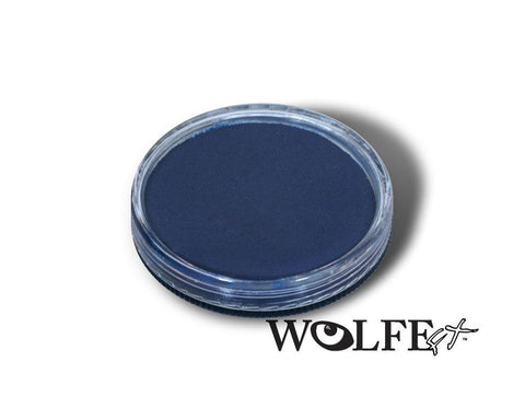 WB Hydrocolor Essentials Cake Dark Blue-30g, Wolfe Paint, WolfeFX, tmyers.com - T. Myers Magic Inc.