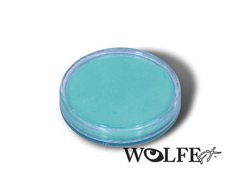 WB Hydrocolor Essentials Cake Light Blue-30g, Wolfe Paint, WolfeFX, tmyers.com - T. Myers Magic Inc.