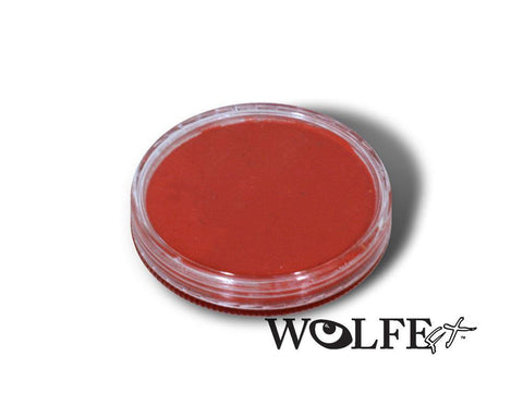 WB Hydrocolor Essentials Cake Red-30g, Wolfe Paint, WolfeFX, tmyers.com - T. Myers Magic Inc.