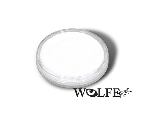 WB Hydrocolor Essentials Cake White-30g, Wolfe Paint, WolfeFX, tmyers.com - T. Myers Magic Inc.