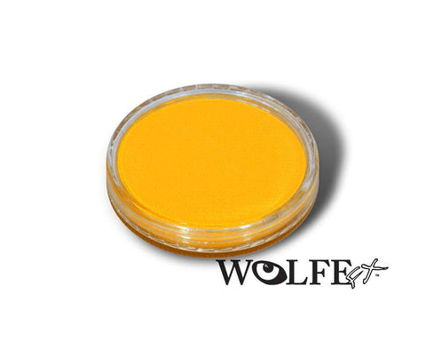 WB Hydrocolor Essentials Cake Yellow-30g, Wolfe Paint, WolfeFX, tmyers.com - T. Myers Magic Inc.