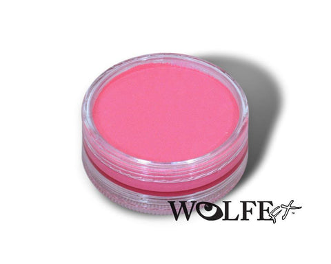 HYDROCOLOR ESSENTIALS CAKE 45 GRAM Pink, Wolfe Paint, WolfeFX, T. Myers Magic Inc. - T. Myers Magic Inc.