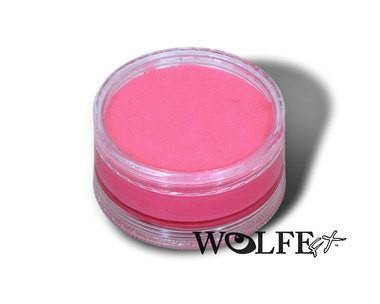 WB HYDROCOLOR ESSENTIALS CAKE 90 GRAM Pink, Wolfe Paint, WolfeFX, T. Myers Magic Inc. - T. Myers Magic Inc.