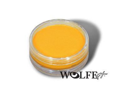 HYDROCOLOR ESSENTIALS CAKE 45 GRAM Yellow, Wolfe Paint, WolfeFX, T. Myers Magic Inc. - T. Myers Magic Inc.
