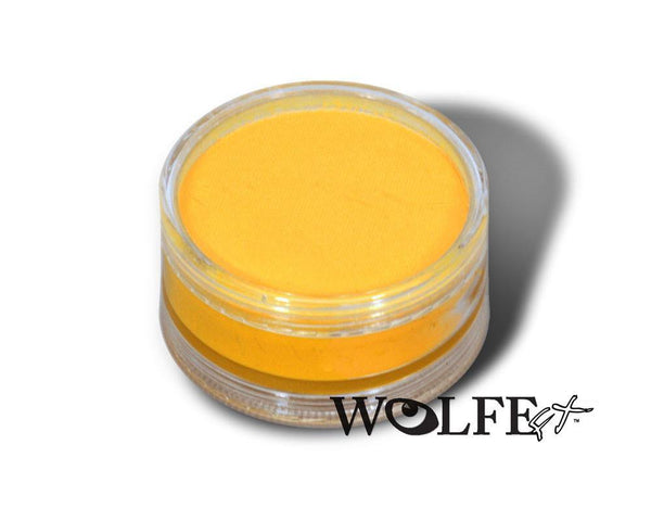 WB Hydrocolor Essentials Cake 90 Gram-Yellow, Wolfe Paint, WolfeFX, tmyers.com - T. Myers Magic Inc.