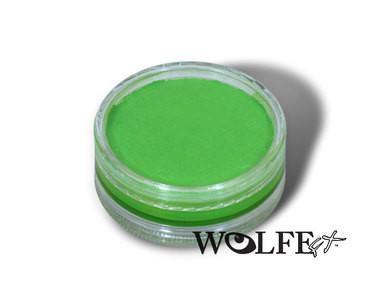 HYDROCOLOR ESSENTIALS CAKE 45 GRAM Light Green, Wolfe Paint, WolfeFX, T. Myers Magic Inc. - T. Myers Magic Inc.
