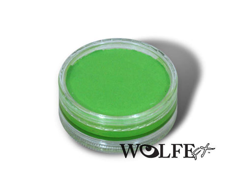 WB Hydrocolor Essentials Cake Light Green-45g, Wolfe Paint, WolfeFX, tmyers.com - T. Myers Magic Inc.