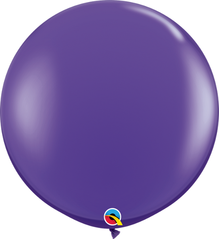 "36"" Qualatex Fashion Purple Violet Round - 2 Count, 3FTQR, Qualatex, tmyers.com - T. Myers Magic Inc."