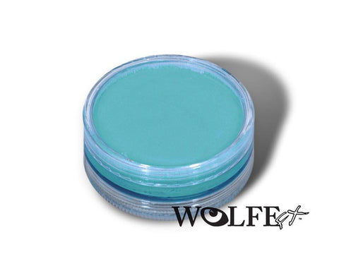 WB Hydrocolor Essentials Cake Light Blue-45g, Wolfe Paint, WolfeFX, tmyers.com - T. Myers Magic Inc.