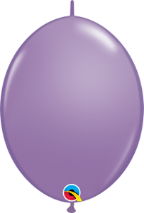"12"" Quick Link Fashion Spring Lilac-50 Count, 12QLF, Qualatex, tmyers.com - T. Myers Magic Inc."
