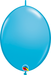 "12""Quick Links Fashion Tone Singles Robin's Egg Blue-50 Count, 12QLF, Qualatex, tmyers.com - T. Myers Magic Inc."