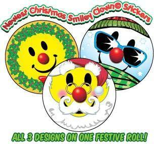 STICKERS AA025 Winter Collection, Stickers, ClownSupplies.com, tmyers.com - T. Myers Magic Inc.