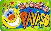 Hoy Conoci un Payaso Sticker, Stickers, ClownSupplies.com, tmyers.com - T. Myers Magic Inc.