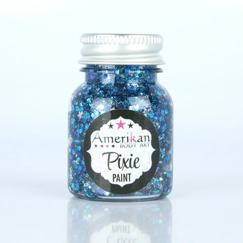 Midnight Blue Pixie Paint Amerikan Body Art-1 Oz., Makeup, Amerikan Pixie Paint, tmyers.com - T. Myers Magic Inc.