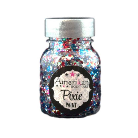 Star Spangled Pixie Paint Amerikan Body Art-1 oz., Face Paint, Amerikan Pixie Paint, T. Myers Magic Inc. - T. Myers Magic Inc.
