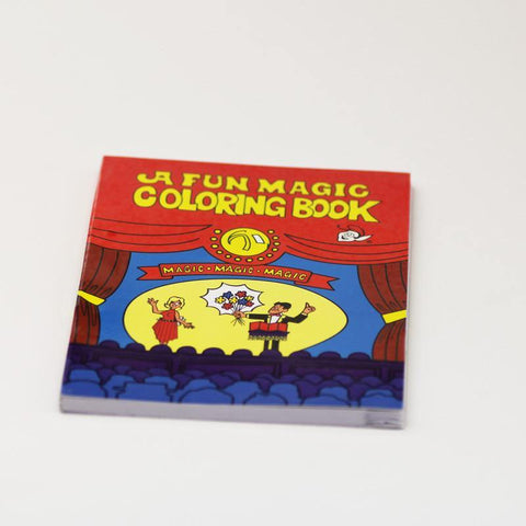 A Fun Magic Coloring Book - Large