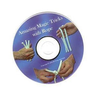 Amazing Magic Tricks with Rope DVD, DVD, Royal Magic, tmyers.com - T. Myers Magic Inc.