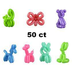 Mini Rubber Balloon Animals in Bulk Bag (50 pcs), Accessories, T. Myers Magic Inc., tmyers.com - T. Myers Magic Inc.