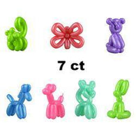 Mini Rubber Balloon Animals in Bulk Bag (7 pcs), Accessories, T. Myers Magic Inc., tmyers.com - T. Myers Magic Inc.