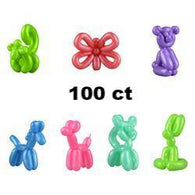 Mini Rubber Balloon Animals in Bulk Bag (100 pcs), Accessories, T. Myers Magic Inc., tmyers.com - T. Myers Magic Inc.