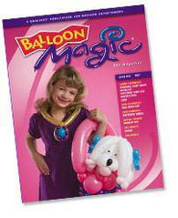 Balloon Magic Magazine #52 - Fairy Princess, Magazines, Qualatex, tmyers.com - T. Myers Magic Inc.