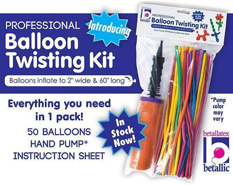 Betallic Balloon Twisting Kit, Pump, Betallic, T. Myers Magic Inc. - T. Myers Magic Inc.