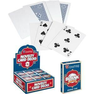 Blank Card Deck, Magic, tmyers.com, tmyers.com - T. Myers Magic Inc.