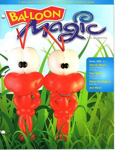 Balloon Magic Magazine #89 Happy Ants