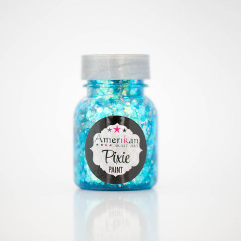Blue Monday Pixie Paint Amerikan Body Art-1 oz., Makeup, Amerikan Pixie Paint, tmyers.com - T. Myers Magic Inc.