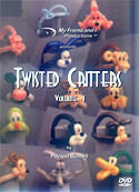 Twisted Critter DVD Volume 1, DVD, T. Myers Magic Inc., tmyers.com - T. Myers Magic Inc.