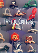 Twisted Critter DVD Volume 2, DVD, T. Myers Magic Inc., tmyers.com - T. Myers Magic Inc.