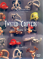 Twisted Critter DVD Volume 3, DVD, T. Myers Magic Inc., tmyers.com - T. Myers Magic Inc.